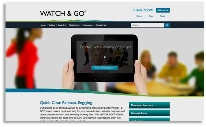WATCH & GO® website